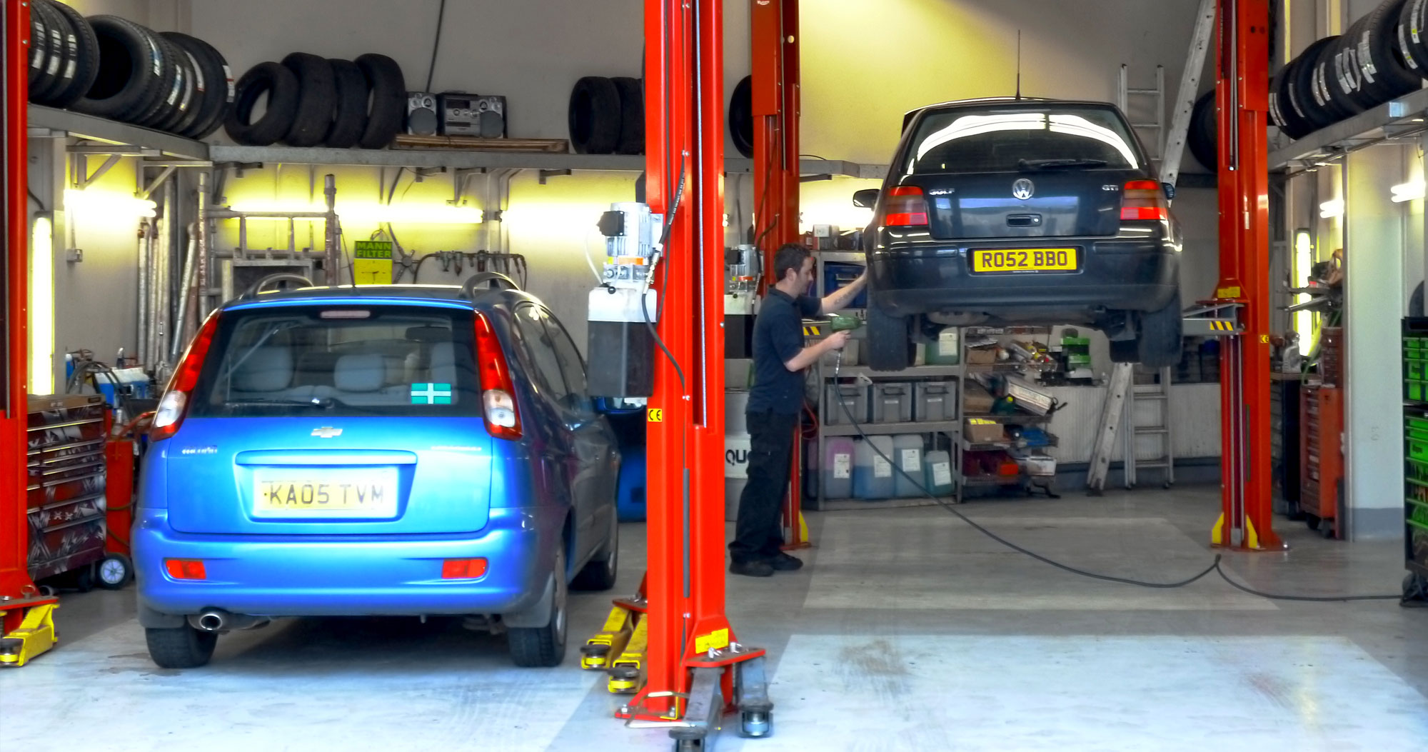 Plymouth MOT Centre Workshop